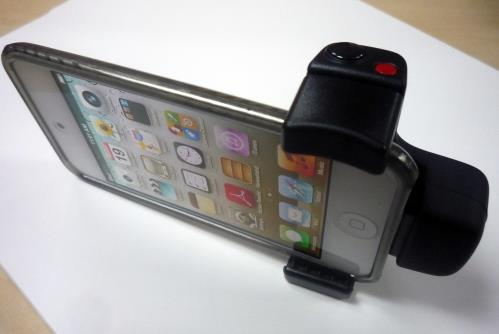 pretty nice 520b8 9199a Belkin Releases LiveAction Camera grip for iPhone/iPod Touch